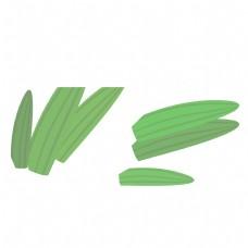 绿色的叶子