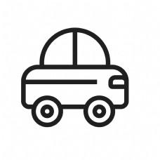 扁平化小汽车