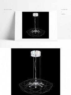 现代工业风格金属吊灯