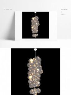 现代创意泡泡吊灯