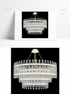现代创意水晶商务吊灯