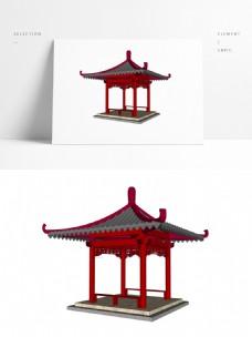 常用景观凉亭SU模型