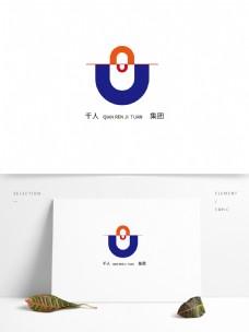 原创企业商务风格标志设计