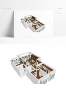 中式风格住宅SU模型