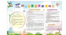 幼儿园夏季健康宣传栏