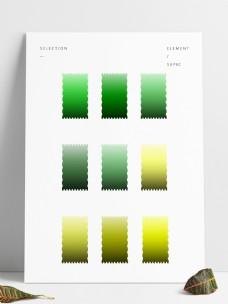 绿黄色渐变预设工具GRD