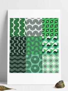 绿色矢量图形图案填充pat文件