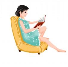 看书的女人