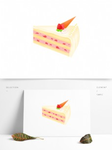 蛋糕生日礼物手绘卡通