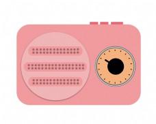 粉色数码照相机