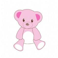 儿童节卡通玩具熊元素