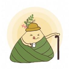 端午节喝茶的粽子