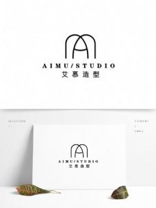 婚纱造型logo设计