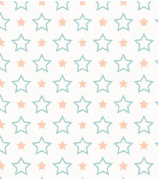 星星无缝花纹
