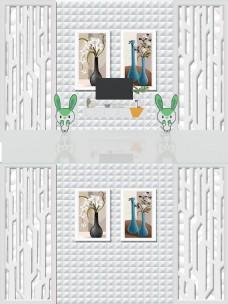 3D立体背景墙装饰
