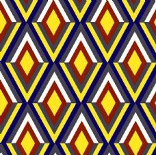 菱形几何拼接