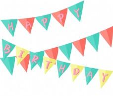 生日派对旗子