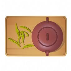 紫砂壶茶艺茶水