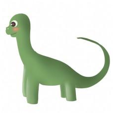 玩具绿色恐龙