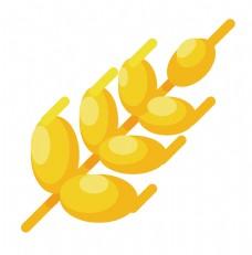 金色麦穗麦子