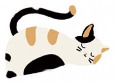 动物猫卡通图案