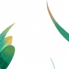 卡通绿色的植物免扣图