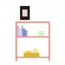 室内家具书架