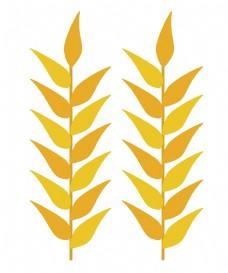 金色成熟麦穗