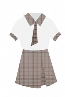 学生裙子服装