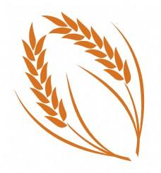 橙色麦子麦穗
