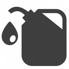 卡通的汽油桶