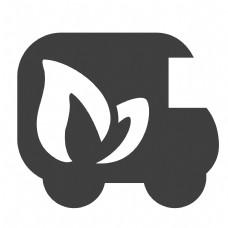 黑色的汽车图标