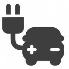 环保汽车图标