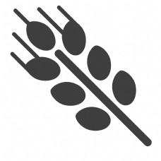 麦穗粮食图标
