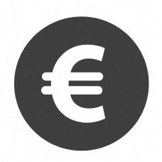 圆形的金钱符号