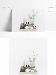 现代简约陈列花瓶