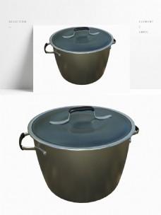 加厚不锈钢铝煮锅