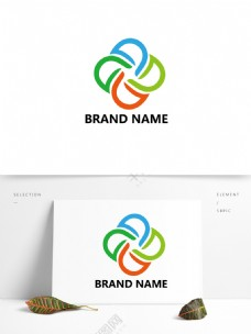 D字母设计企业logo