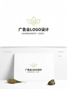 简约创意大气广告业logo标志设计
