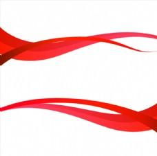 红色动感背景