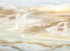 大理石紋背景壁畫