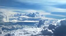 云层之上的天空