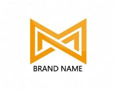 M字母企业logo