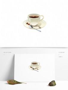 食物咖啡咖啡杯矢量卡通