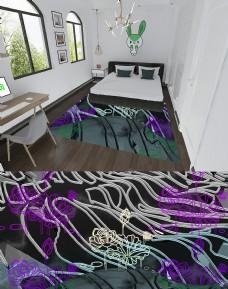 荷花紫黃海中飄地毯