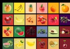 清晰水果摳圖素材合集