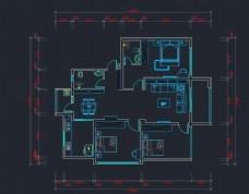 CAD室内施工图