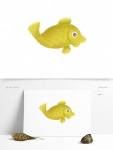可爱小鱼动物卡通透明素材