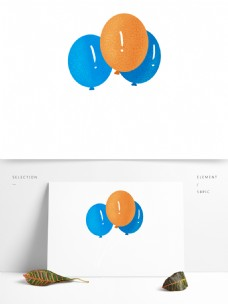 可爱风气球免抠元素
