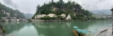 贵州镇远风景区全景